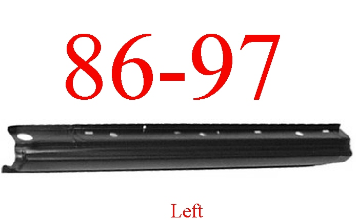 86-97 Nissan Pickup Left Extended Rocker Panel